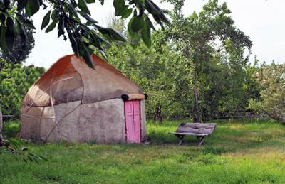 Yurt camp accommodation, Karakol, Kyrgyzstan