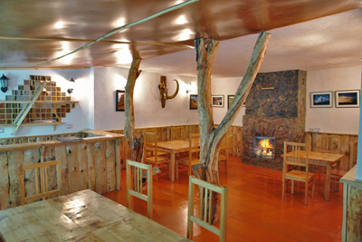 Bar, dining room, Yurt Camp, Karakol, Kyrygzstan
