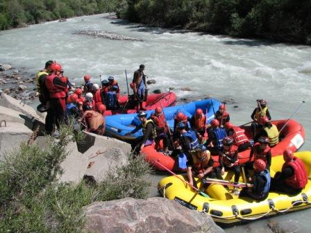 rafting, boom valley, Kyrgyzstan